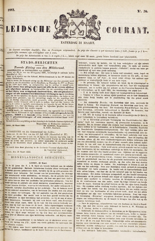 Leydse Courant 1883-03-31