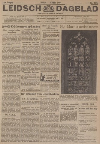 Leidsch Dagblad 1940-10-04