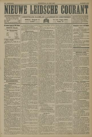 Nieuwe Leidsche Courant 1927-06-16