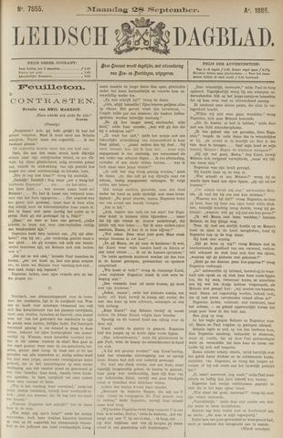 Leidsch Dagblad 1885-09-28