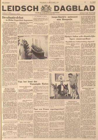 Leidsch Dagblad 1949-09-28