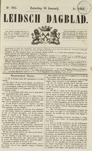 Leidsch Dagblad 1863-01-10