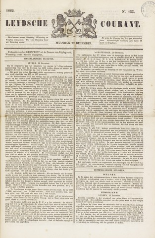 Leydse Courant 1862-12-22