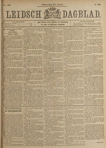 Leidsch Dagblad 1899-04-10