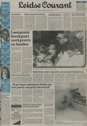 Leidse Courant 1992-11-11