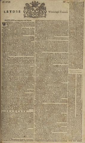 Leydse Courant 1759-01-31