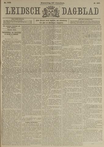 Leidsch Dagblad 1907-10-19