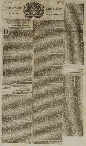 Leydse Courant 1803-02-14