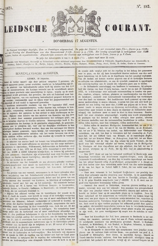 Leydse Courant 1871-08-17