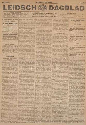 Leidsch Dagblad 1923-10-02