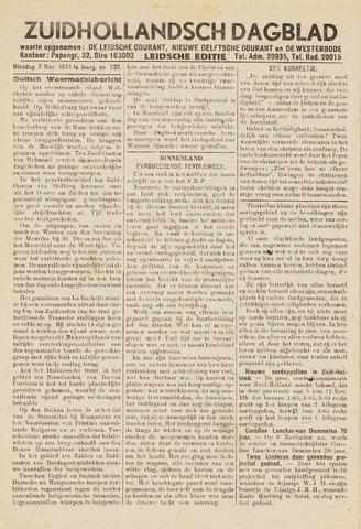 Zuidhollandsch Dagblad 1944-11-07