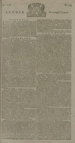 Leydse Courant 1736-10-03