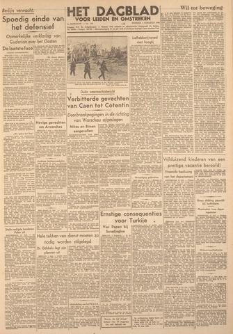 Dagblad voor Leiden en Omstreken 1944-08-01