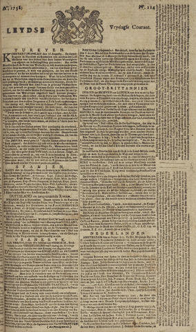 Leydse Courant 1758-09-22