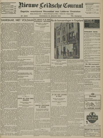Nieuwe Leidsche Courant 1939-01-18