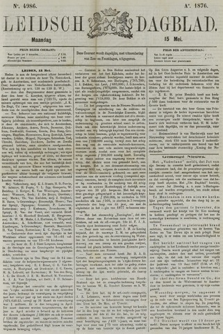 Leidsch Dagblad 1876-05-15
