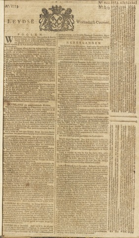 Leydse Courant 1773-12-22