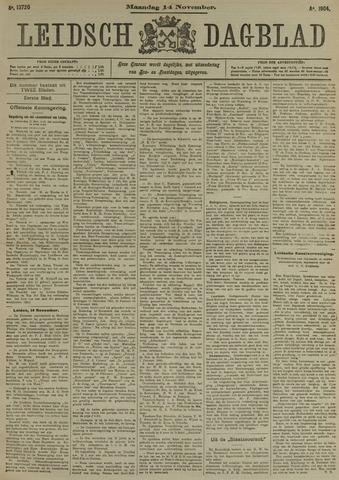 Leidsch Dagblad 1904-11-14
