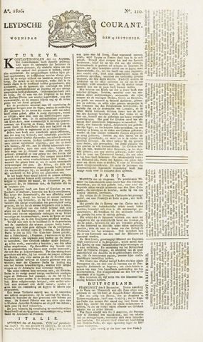 Leydse Courant 1826-09-13