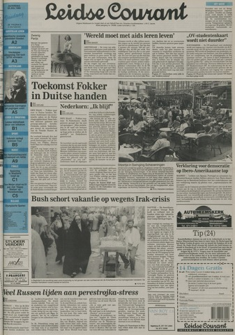 Leidse Courant 1992-07-25