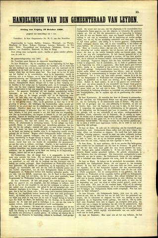 Handelingen van de Raad 1866-10-19