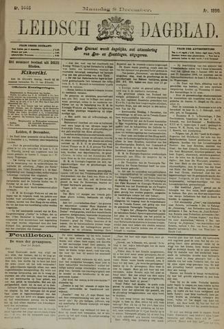 Leidsch Dagblad 1890-12-08