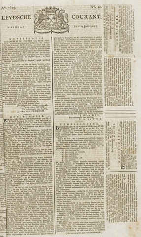 Leydse Courant 1825-01-24