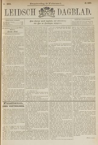 Leidsch Dagblad 1893-02-09