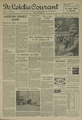 Leidse Courant 1960-03-01