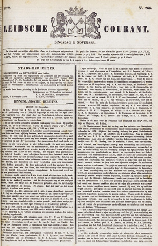Leydse Courant 1879-11-11