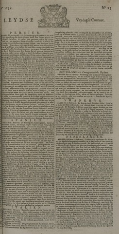 Leydse Courant 1739-02-27