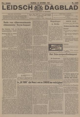 Leidsch Dagblad 1940-09-30