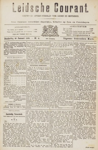 Leydse Courant 1889-01-10