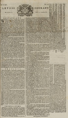 Leydse Courant 1790-01-25