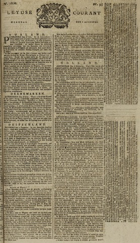 Leydse Courant 1808-08-08