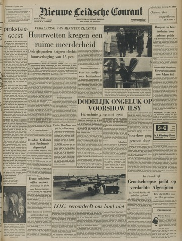 Nieuwe Leidsche Courant 1957-06-08