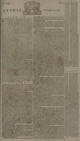 Leydse Courant 1743-02-08