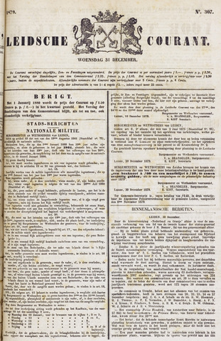 Leydse Courant 1879-12-31