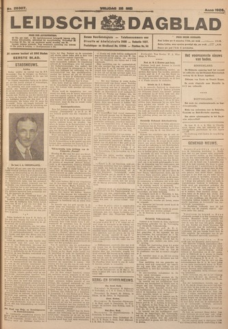 Leidsch Dagblad 1926-05-28