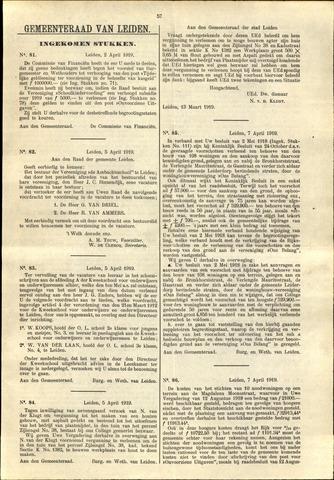 Handelingen van de Raad 1919-04-02