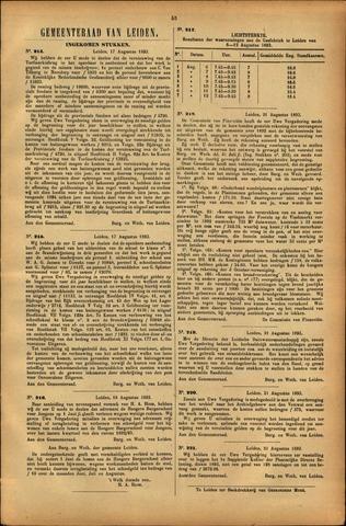 Handelingen van de Raad 1893-08-17