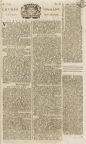 Leydse Courant 1815-02-10