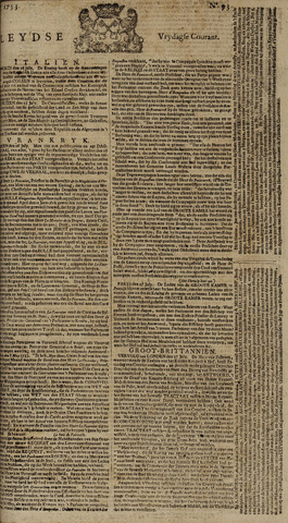 Leydse Courant 1753-08-03