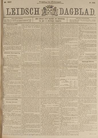 Leidsch Dagblad 1902-02-14