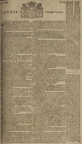 Leydse Courant 1760-05-30