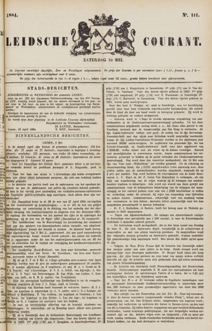 Leydse Courant 1884-05-10