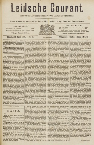 Leydse Courant 1887-04-19