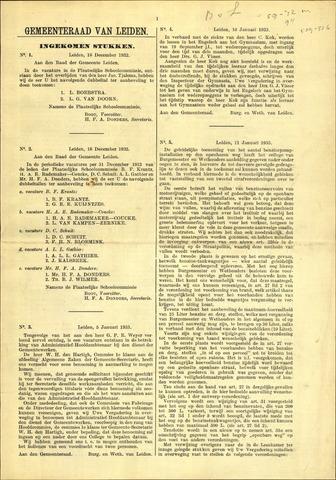 Handelingen van de Raad 1932-12-16