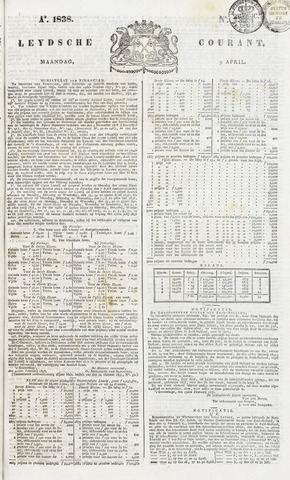 Leydse Courant 1838-04-09