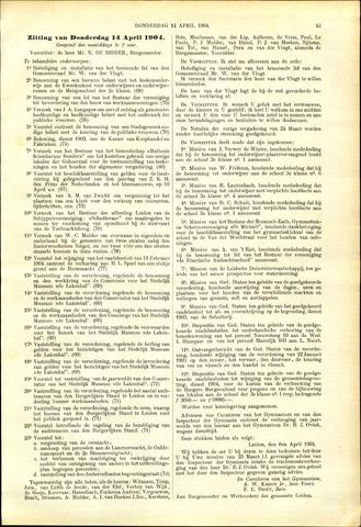 Handelingen van de Raad 1904-04-14